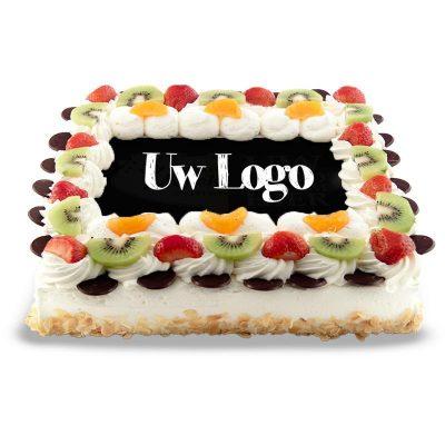 Foto of Logo taart